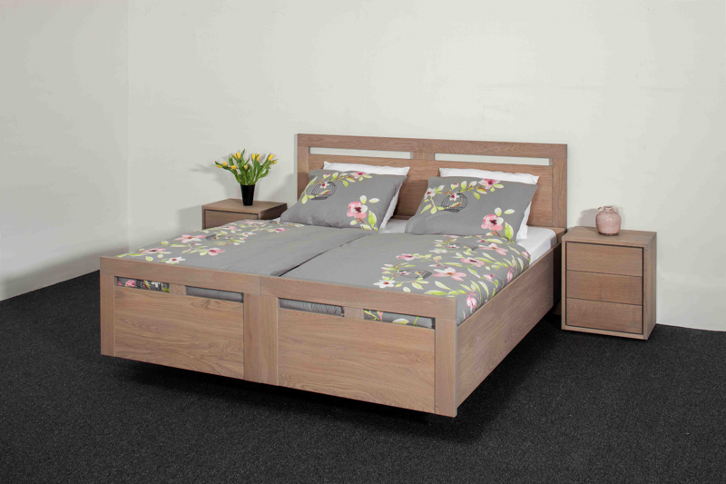 Slaapkamer Massief Hout : Meubelfabriek henk van de broek massief eiken slaapkamers